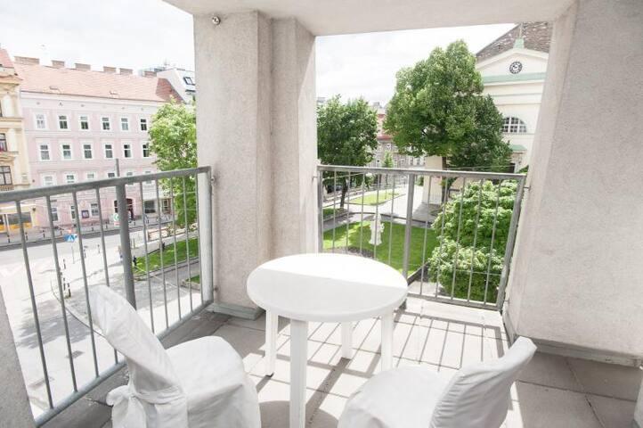 Terrassen 3 Schlafzimmer Wohnung - Viena - Apartamento
