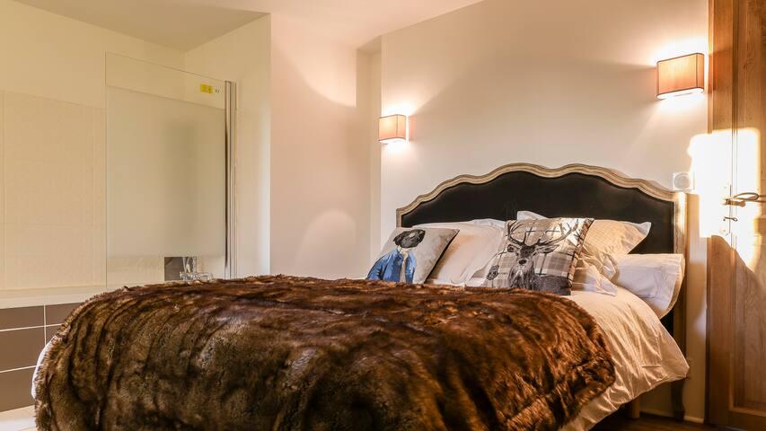 Chambre Flanelle au Domaine du Kelenn - Caden - Bed & Breakfast