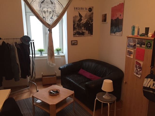 Cozy room close to the city center :) - Wenen - Appartement