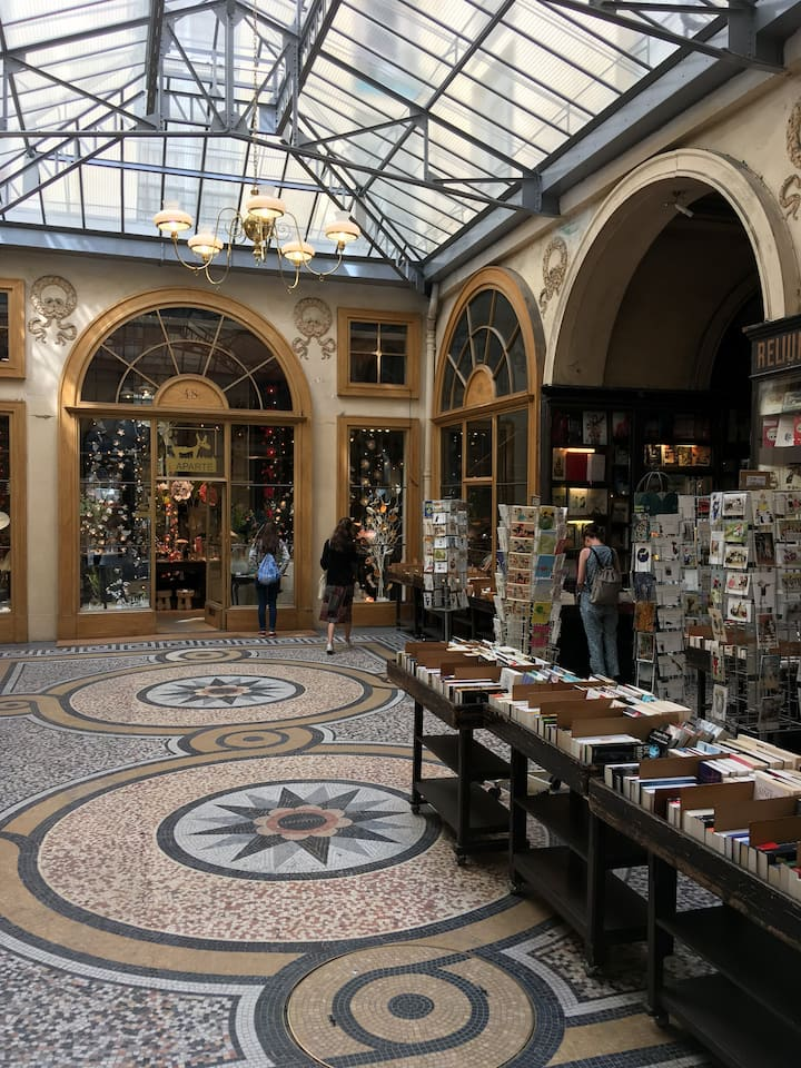 Bargain hunting in the antique district