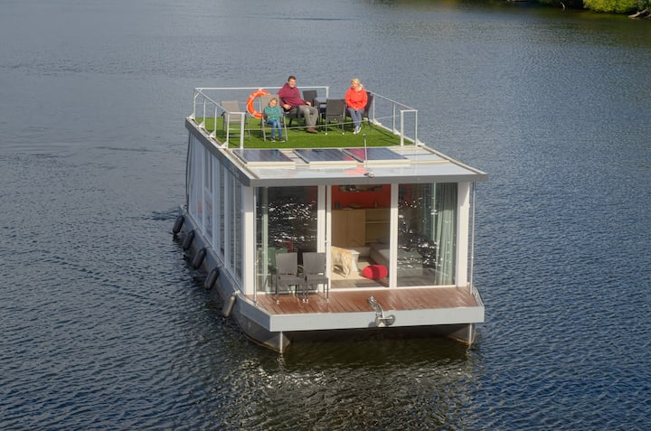 Hausboot in Berlin