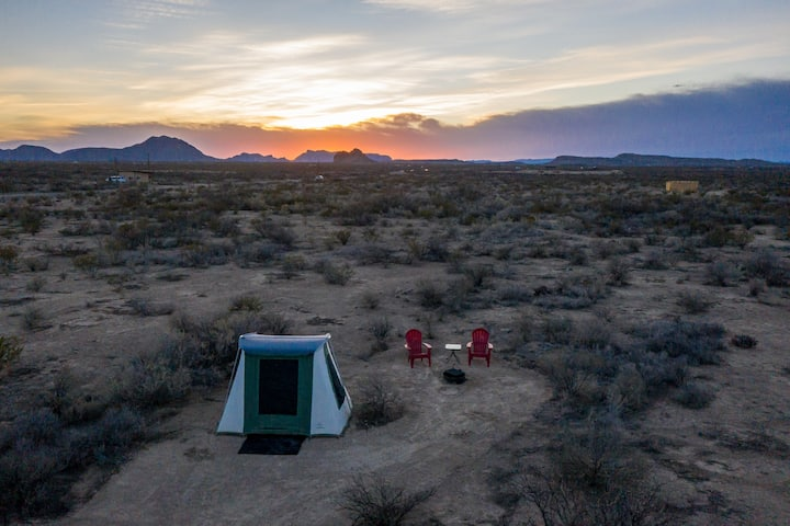 Javelina Jacal (Canvas Tent @ Big Bend Glamping)