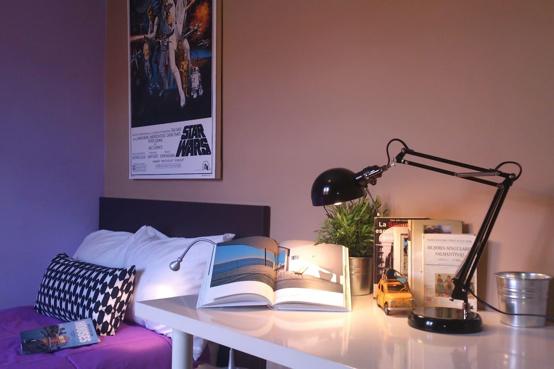 Habitación cómoda y tranquila