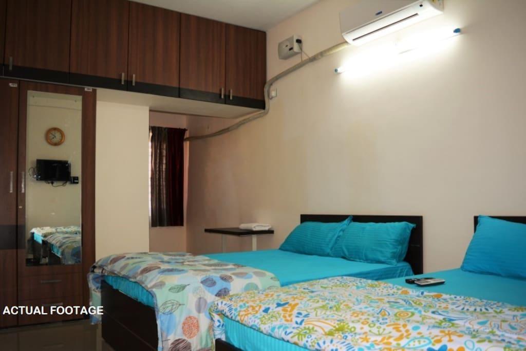 AC Double Bedroom