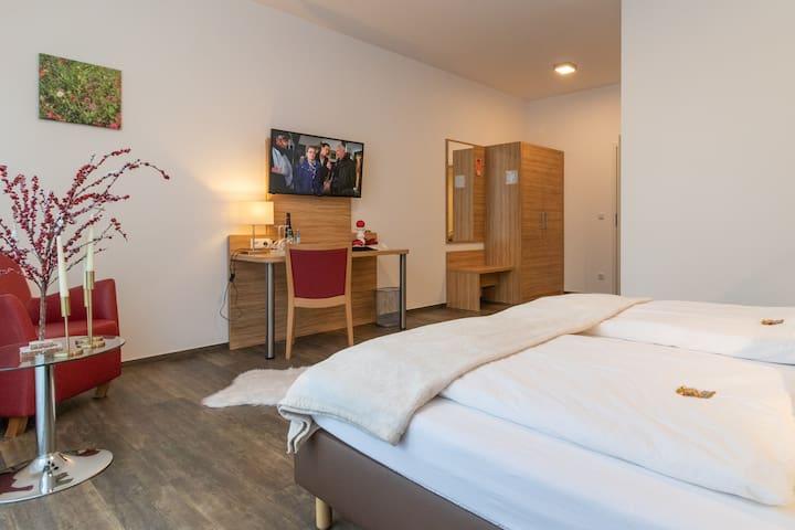 25m² Zimmer in Hotel in Wörrstadt (Nr. 7 von 10)