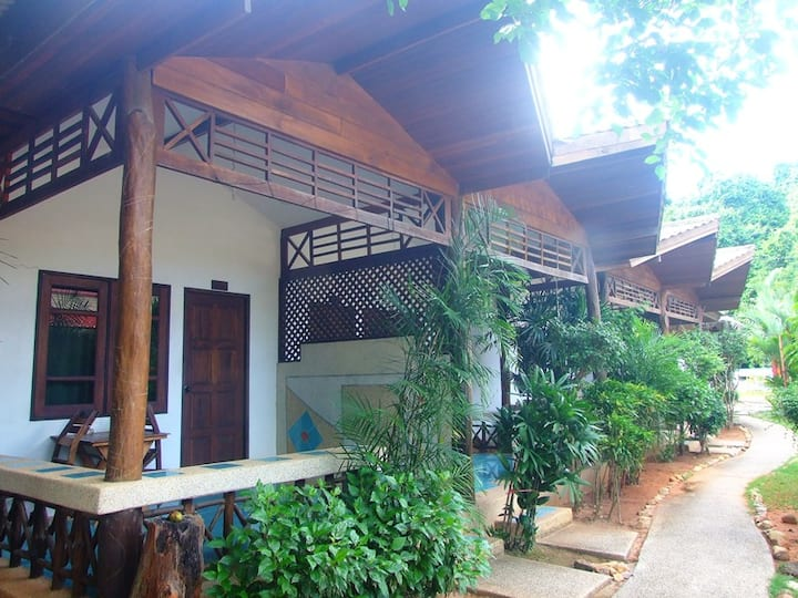 Private Air-Con, One King Bed, Room Only, Ao Nang