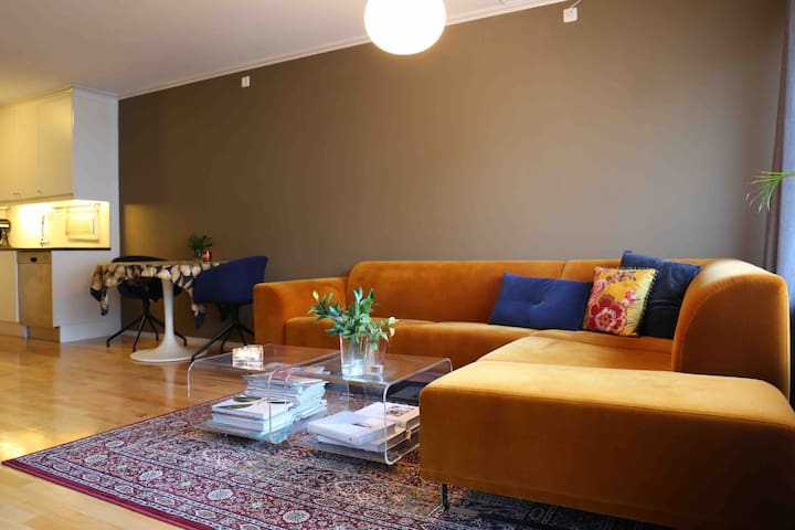 Modern & well equipped flat in Bergen city center