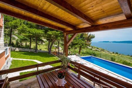 Villa Jozini trudi / Omiš,Lokva Rogoznica - Lokva Rogoznica - 别墅
