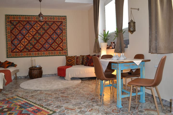 Moroccan style studio in Budapest