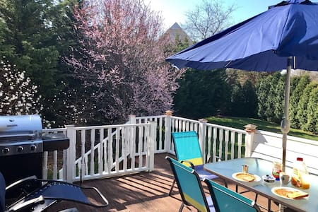 Sunlit, Clean & Private Bed & Bath In Milford - Milford - Haus