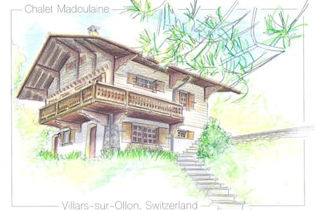 Cosy chalet with breathtaking view in Villars!