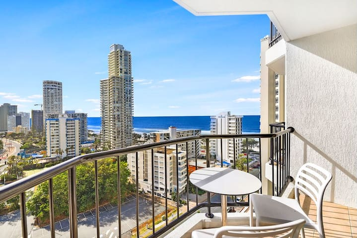 Ocean View Twin Studio, Surfers Paradise