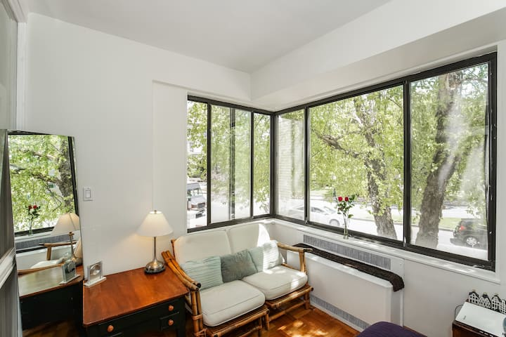 DuPont/Logan 1-BR--roof & view, walk everywhere NW