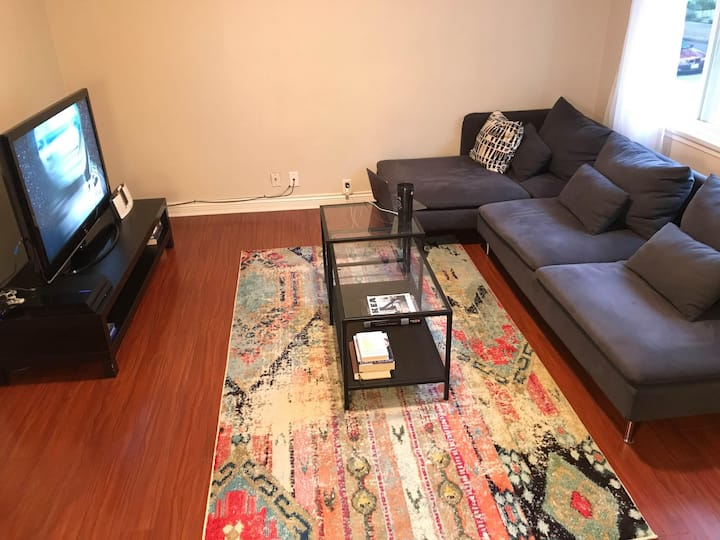 Private room steps away from skytrain
