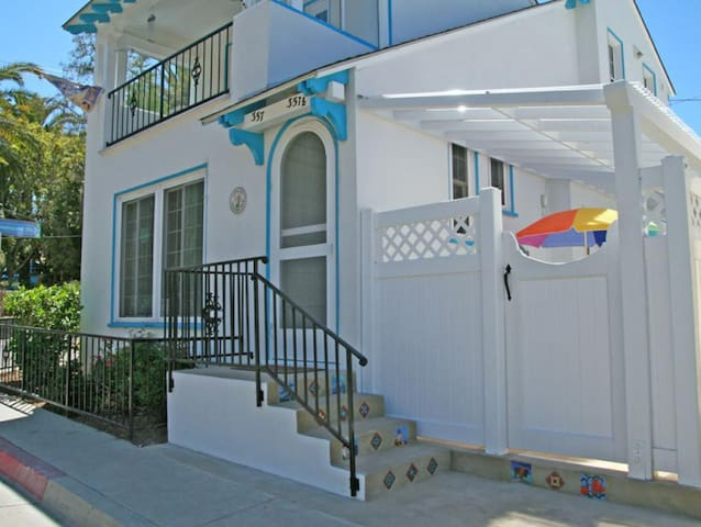 Comfortable Family Home, Lower Level Duplex, 3 Blocks to Beach  Shops - 357 Descanso