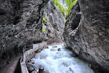 Partnachlamm Garmisch P. (about 15min from the apartment)