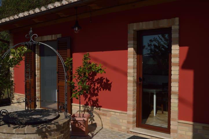 Casa di Buffi - Appartement - ruhig und gemütlich - Monsampietro Morico - Flat