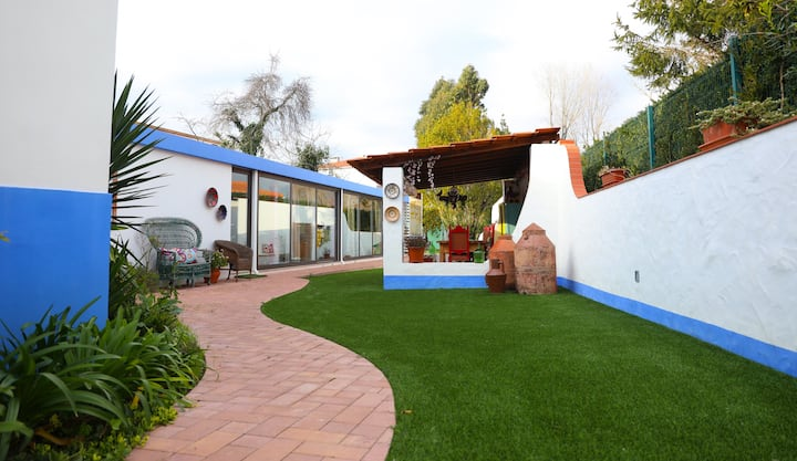 House with 3 bedrooms in Marinha Grande, with enclosed garden and WiFi - 7 km from the beach