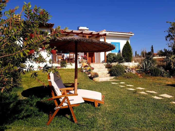 Seaside villa-Halkidiki - Private garden