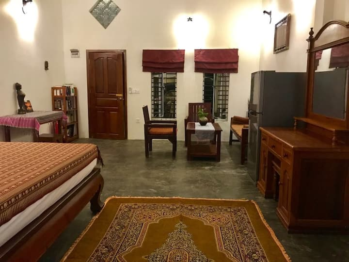 Khmer House Double Room with private pick up