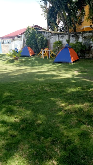 Tents are available for rent, and can bring your own,will be charge for space only