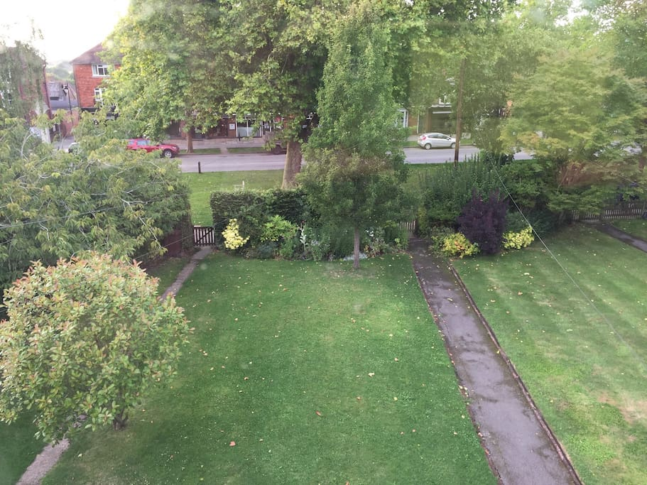 Front garden and High Street