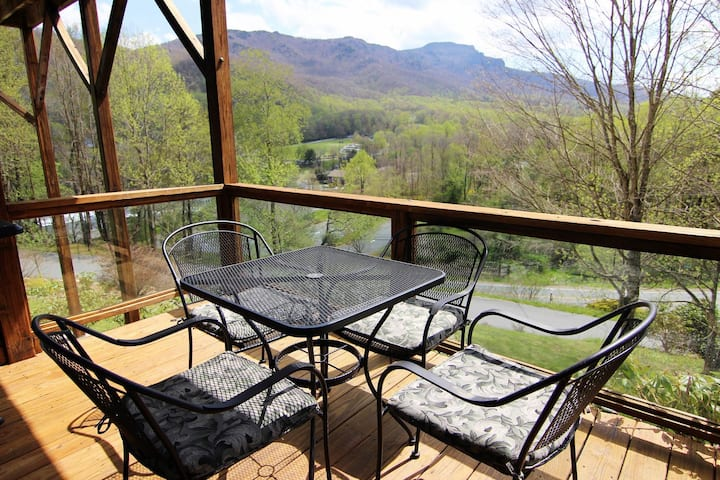 Grandfather VIEW*Dog Friendly*Central Location*Fireplace