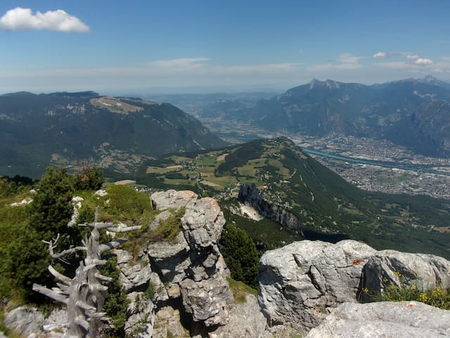 95m2 in mountains, Vercors-Alpes, near Grenoble