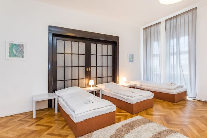 Welcome Prague / Bed in 7 Bed Dormitory Room 2/2/4