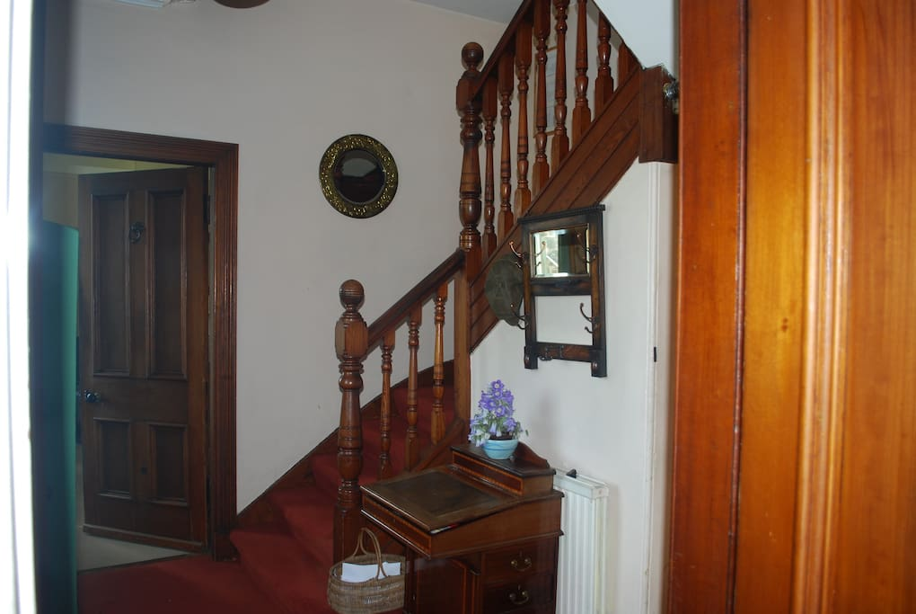 Hallway with Staircase