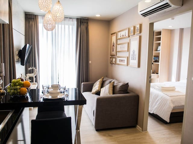 Brand-new room in hippest area. - Su Thep - Flat