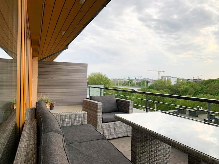 Modern Penthouse with a spectacular view