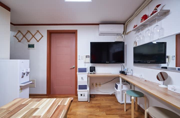 BEST❤Famliy&Friends❤Cozy 4Bed 2Bath House HONGDAE