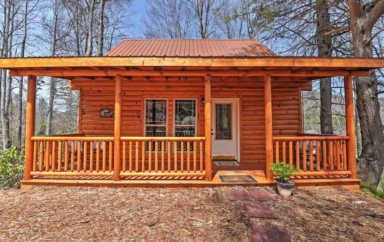 Secluded 2BR Roan Mountain Cabin - Roan Mountain - Chatka