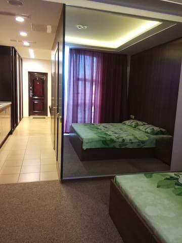 Апартаменты с ванной Studio Crocus 25-212