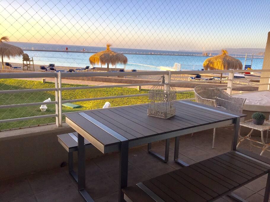 Terraza, balcón