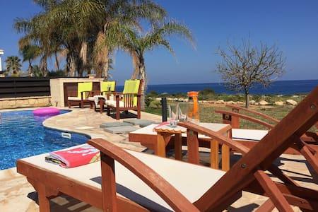 Greco Mare villa 5 with sea view and private pool - Protaras - Casa de campo