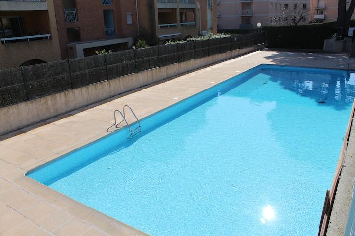 Appartement clim resid sécurisée piscine parkingSS