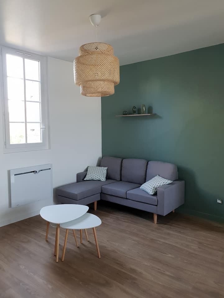 Chambre dans appartement hypercentre rénové
