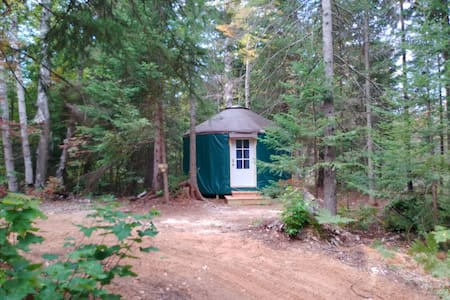 Great Lakes Yurt Camp: Kingfisher Yurt