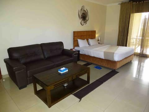 Serviced Studio apartment at the heart of Kigali.