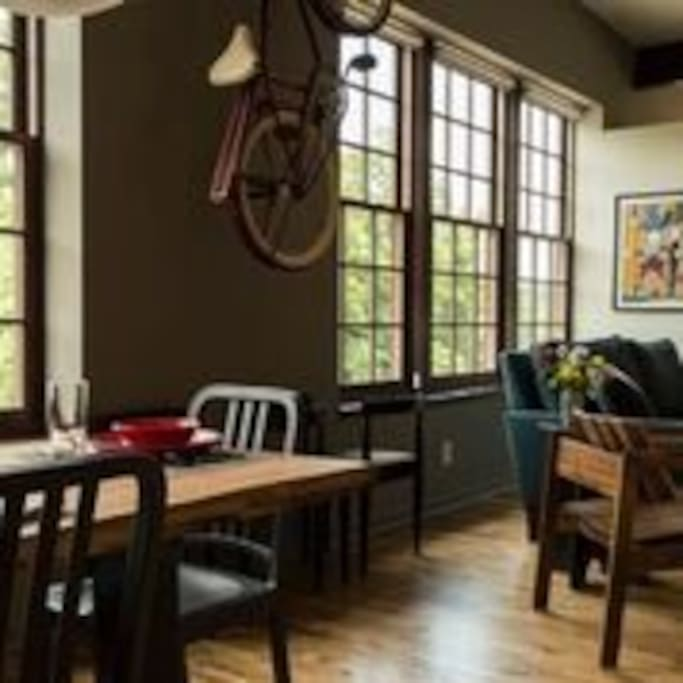 Open loft living space