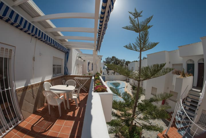 Apartamento 80m2 piscina 100m playa - San José - Appartement