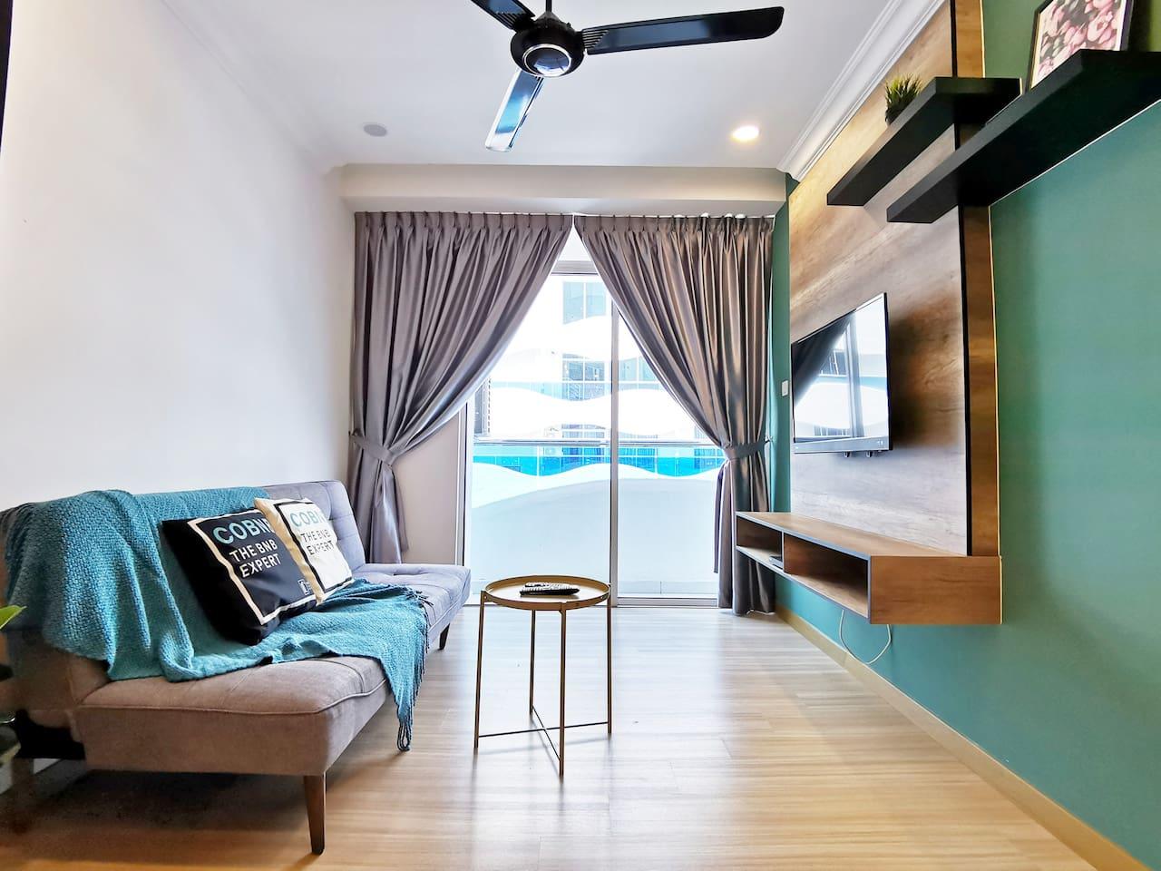 The Wave Melaka By COBNB-- Stunning 2Bedroom Family Home