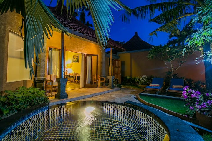 Comfortable 1 Bedroom Jacuzzi Villa