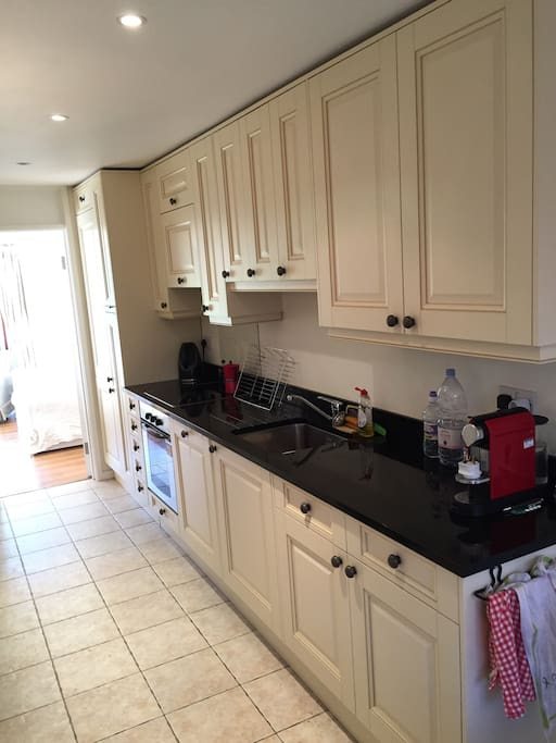 Fully equipped separate kitchen