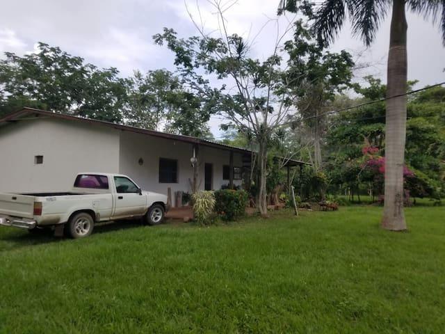 Posada Rural Lilita. Típica casa de campo hondureña