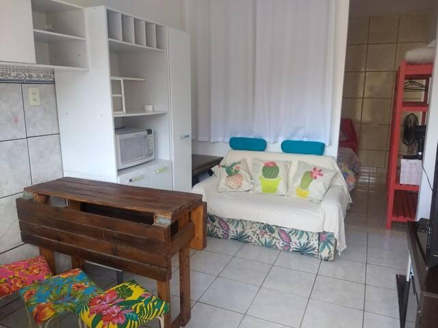 Hospedagem aconchegante na ilha de Sfco do Sul-SC