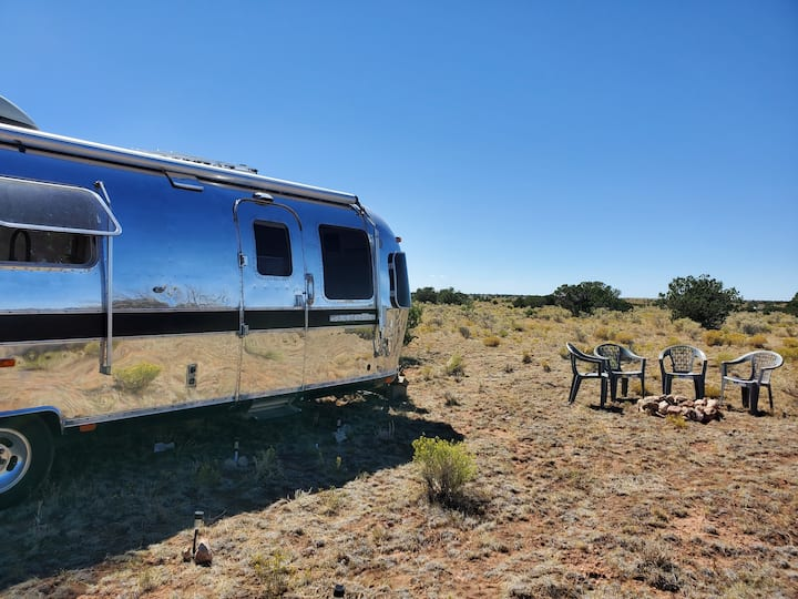 The Storm- Modern Airstream near the Grand Canyon