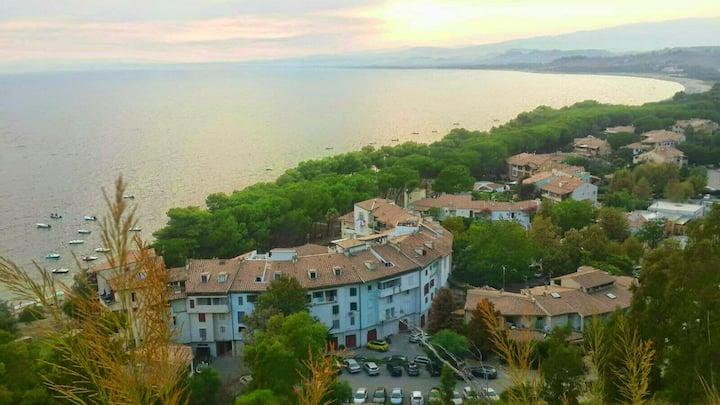 Splendida villa sulla costa ionica